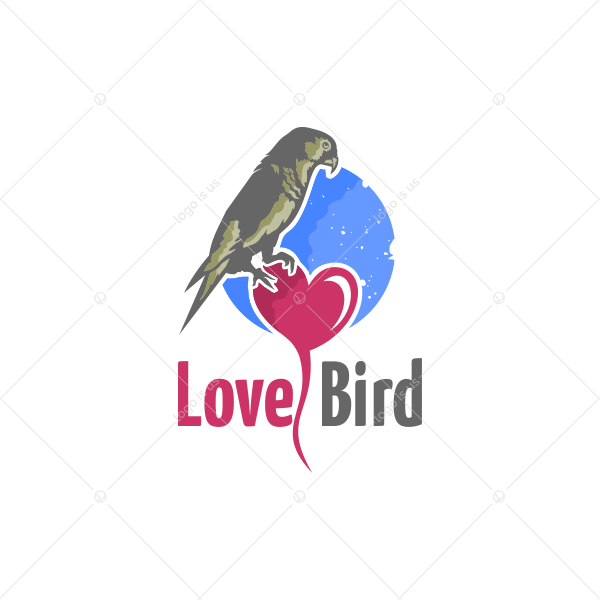 love bird logo logo is us love bird logo